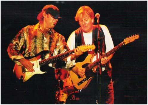 Con Javier Vargas. Murcia 2000