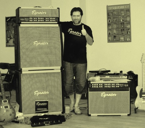 Llorenç Barraquet y Eganter Custom Amplification