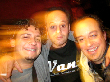 Ramón Vanz, Natxo Vanz y Damià (Graham Fsoter Trio)