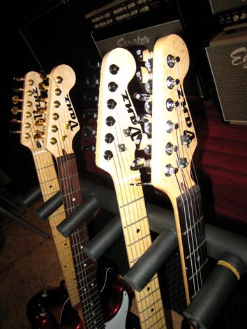 Vanz Guitars -Egnater Amps showroom