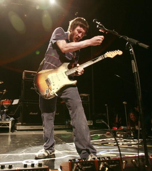 Frusciante y su Stratocaster