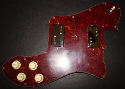 Lindy Fralin P-92 para Fender Tele Deluxe