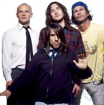 Flea, Keidis, Smith y Frusciante: Red Hot Chili Peppers