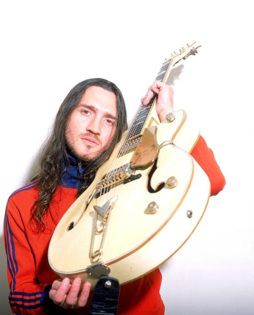 Frusciante y su Gretsch White Falcon