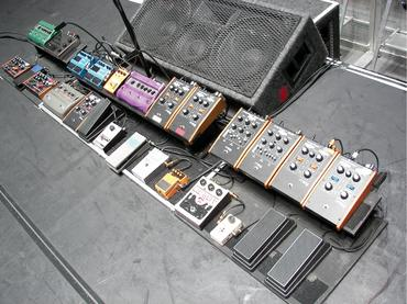 Pedalboard de John Frusciante