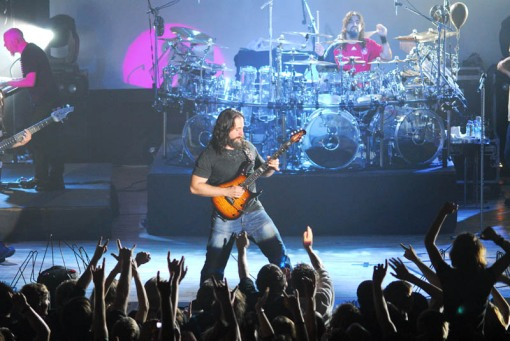 Petrucci con Dream Theatre
