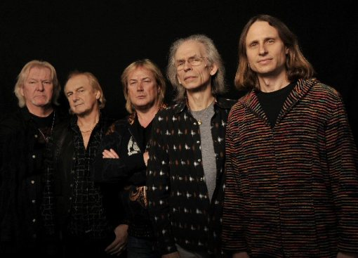 Yes 2012. Chis Squire, Alan White, Geoff Downes, Steve Howe y John Davison