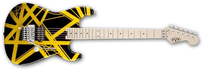EVH Striped Series (negro/amarillo)
