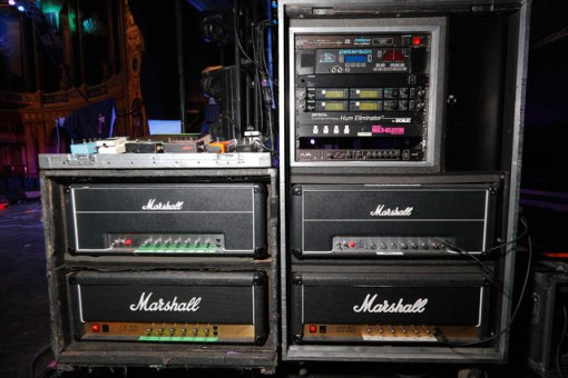 Amp backline