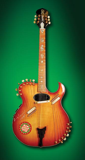 Guitarra-arpa Hamer de Andy Summers