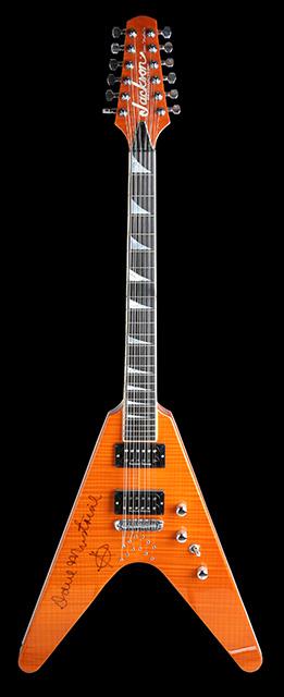 Jackson 12 string V de Dave Mustaine (Megadeth)