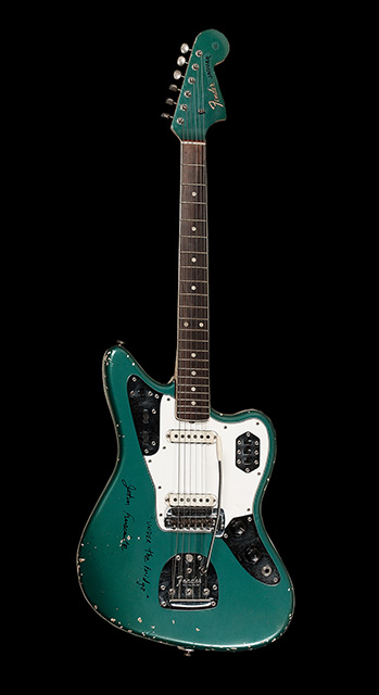 Fender Jaguar de John Frusciante (RHCP)