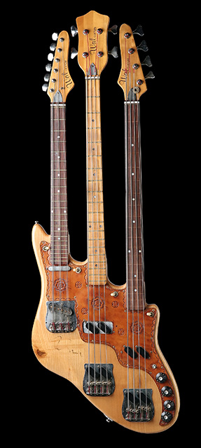 Wal Bass Triple Neck de Chris Squire (Yes)
