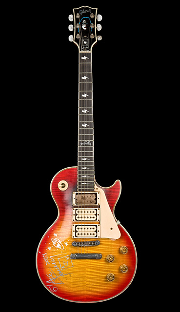 Gibson Les Paul custom de Ace Frehley (Kiss)