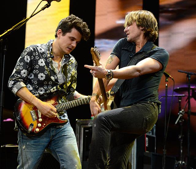 John Mayer y Keith Urban