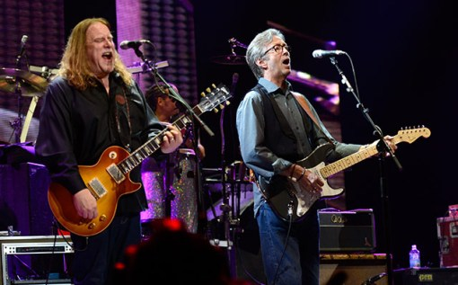 Warren Haynes y Eric Clapton