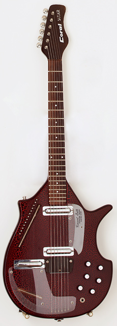 Coral Electric Sitar de Eric Clapton