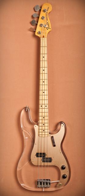 Fender Lucite P-Bass de John Entwistle