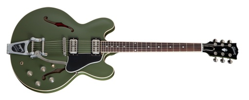 """Gibson Chris Cornell ES-335 """"Olive Drab Green"""""""
