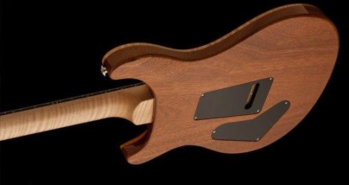 Mástil de arce en esta edición de la Custom 24