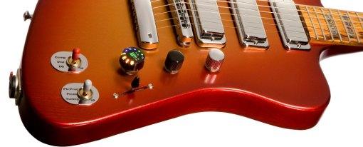 Controles de la Gibson Firebird X