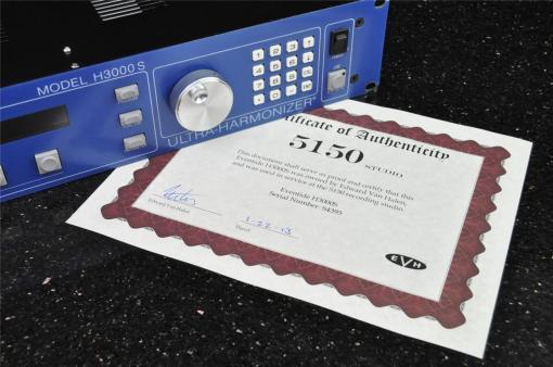 Eventide H3000 de los estudios 5150 (Van Halen)
