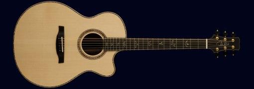 PRS Angelus Acoustic con trasera y tapas de koa