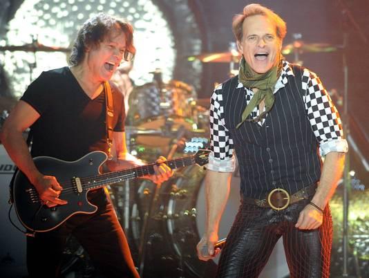 Edward Van Halen y David Lee Roth
