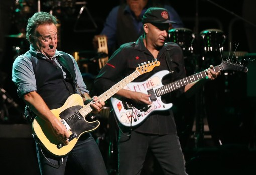 Bruce+Springsteen+Tom Morello