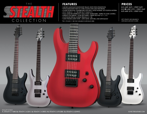 Schecter Stealth Series