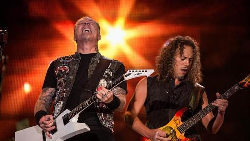 James Hetfield y Kirk Hammet (Metallica)