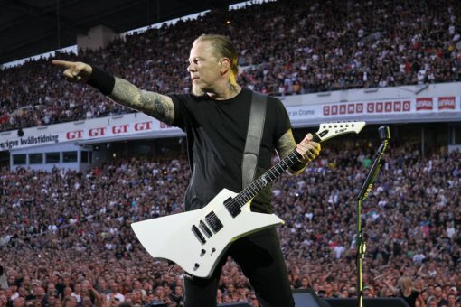 James Hetfield y su ESP