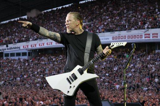 James Hetfield y su ESP