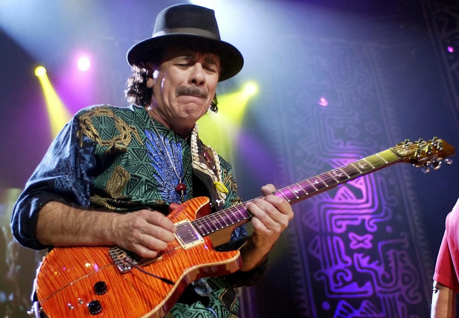 Carlos Santana |