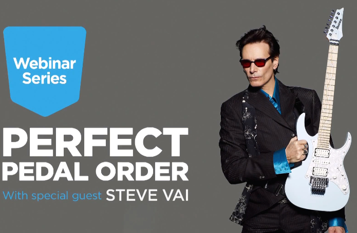 Perfect Pedal Order - Steve Vai