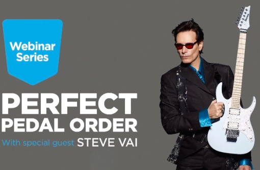 Perfect Pedal Order - Steve Vai