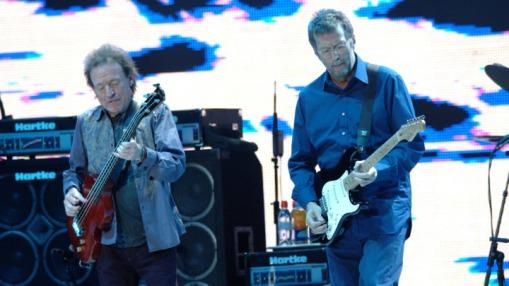 Jack bruce junto a Eric Clapton