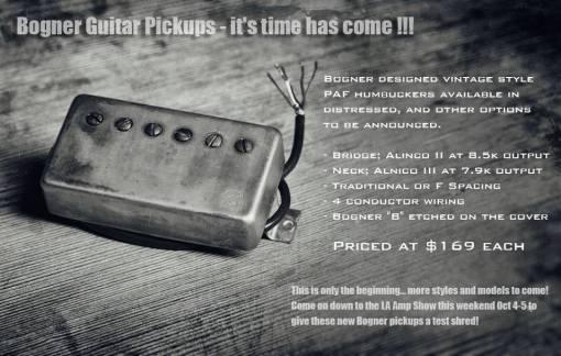 bogner-pickups