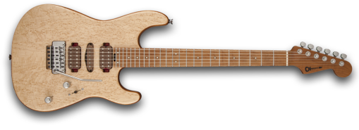 GUTHRIE GOVAN SIGNATURE BIRD'S EYE MAPLE, MAPLE FINGERBOARD, NATURAL TOP WITH WALNUT STAIN BACK AND SIDES