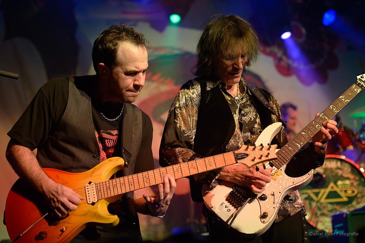 Dave Weiner y Steve Vai