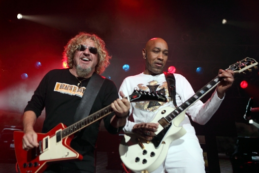 Sammy Hagar y Vic Johnson