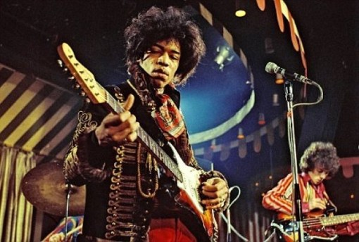 Mandatory Credit: Photo By MARC SHARRAT / REX FEATURES THE JIMI HENDRIX EXPERIENCE VARIOUS - 1967 PERFORMING MARQUEE CLUB, LONDON - 02 MAR 1967