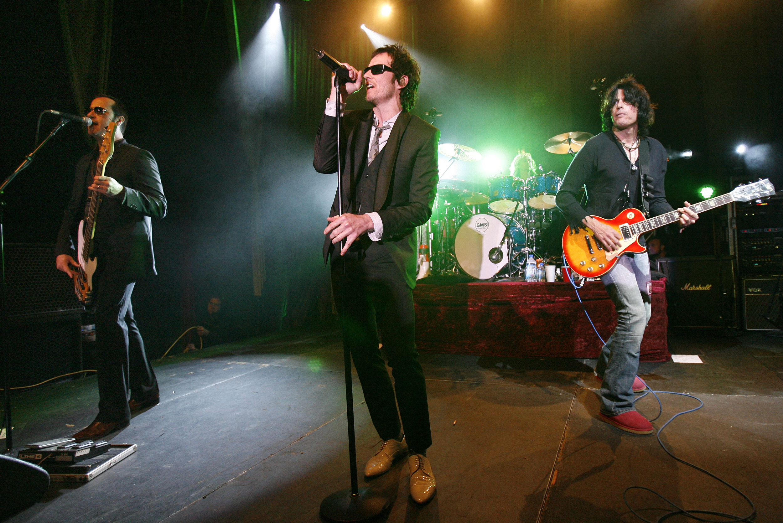 Scott con Stone Temple Pilots