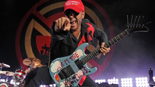 Prophets of Rage in concert at The Perfect Vodka Amphitheatre, West Palm Beach, Florida, USA - 02 Oct 2016